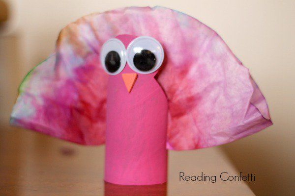 31 pink turkey for thanksgiving http://hative.com/homemade-animal-toilet-paper-roll-crafts/