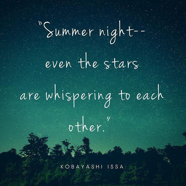 Summer Night Quotes