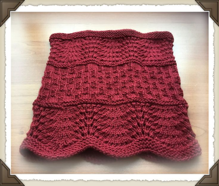 Lacy Beginner Cowl