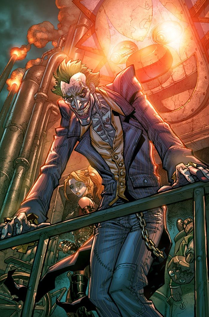 Batman: Arkham City - Joker Comic Art
