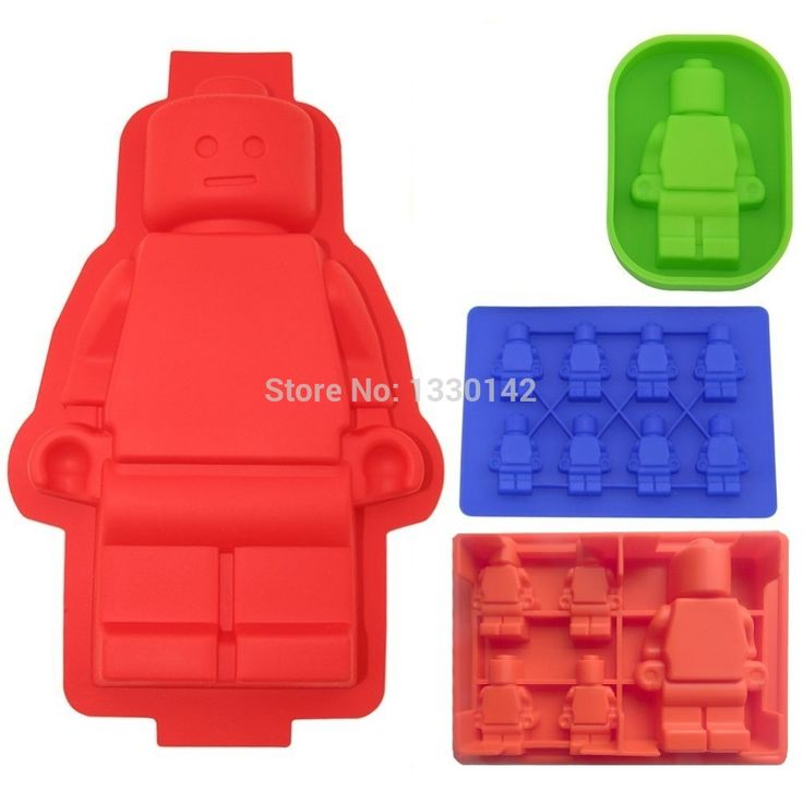 4x Lego Man style Ice Cube Tray bonbons au chocolat Savon Bougie Jello Mold Crayons Moules Moule Silicone de bar Drink bricolage dans Tubes à glace de Maison & Jardin sur AliExpress.com | Alibaba Group