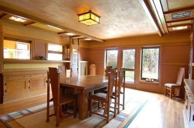 Prairie School Home by Architect Walter Burley Griffin Lists in Elmhurst