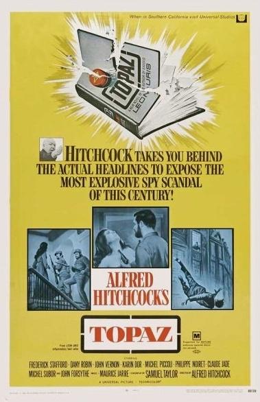 Alfred HITCHCOCK: Topaz (1969)