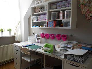 Tineke's kaartenhoekje: Mijn hobbykamer!!!