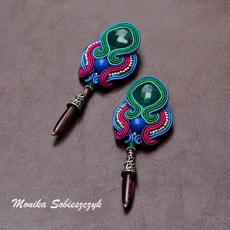 My soutache earrings  sutasze.blogspot.com