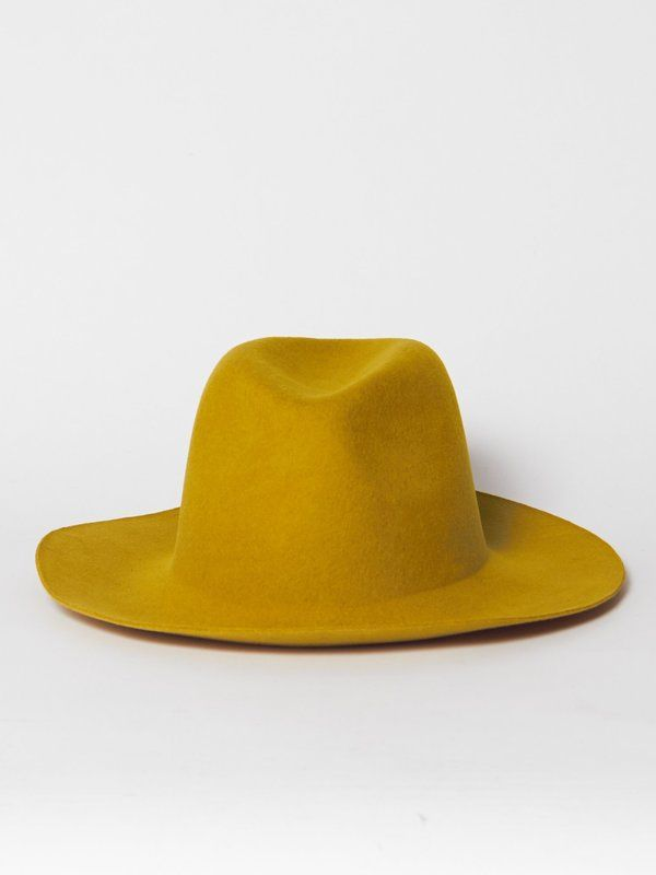 Reinhard Plank Uniform Hat - Mustard on  1c055656493f