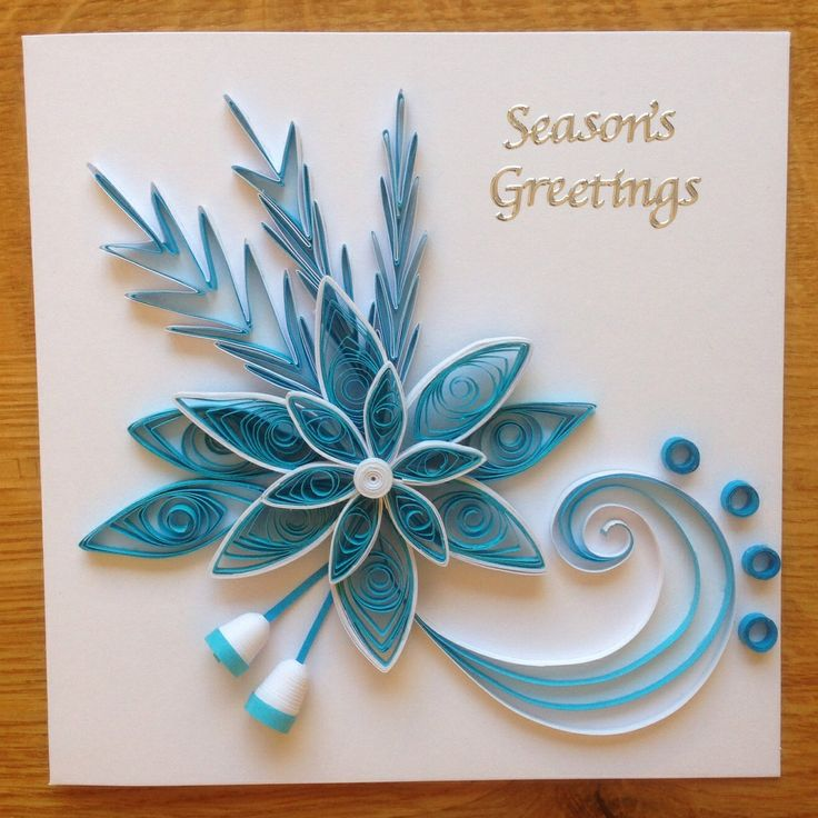 Quilling christmas 2013