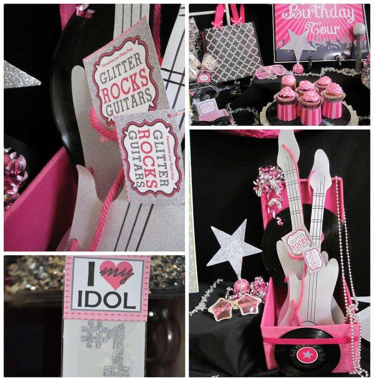 Rock Star Makeover & Karaoke Birthday Party Ideas | Photo 3 of 22
