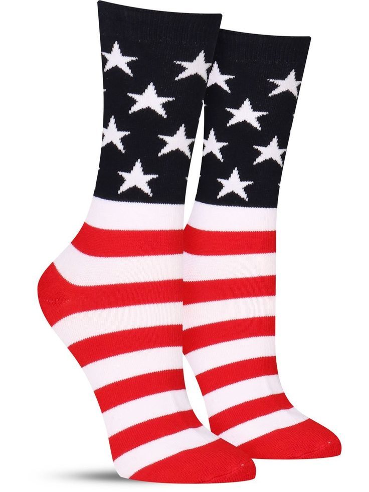 American Flag Socks | Womens