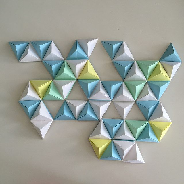 25 best ideas about origami wall art on pinterest