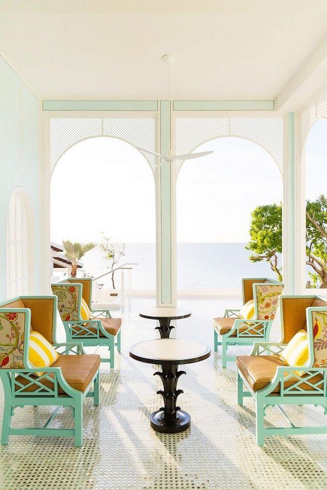 Malliouhana, Anguilla One of series of luxury beach resorts.