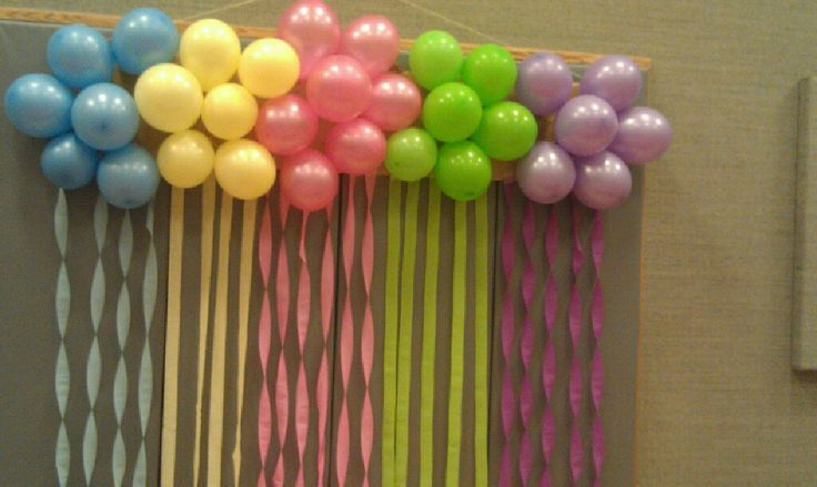 Step by step instructions on how to do a balloon cluster for Balloon cluster decoration