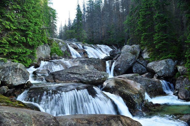 Vysoké Tatry -vodopády Studeného potoka