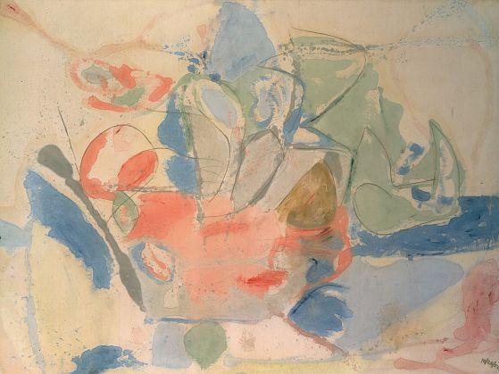 Helen Frankenthaler (Nueva York, 12 de diciembre de 1928 - Darien, Connecticut, 27 de diciembre de 2011)[1] fue una pintora expresionista abstracta estadounidense. Recibió la influencia de la obra de Jackson Pollock y de Clement Greenberg con quien también se vio involucrada en el Movimiento de Arte Abstracto de 1946-1960. Estudió en la Escuela Dalton con Rufino Tamayo y también en el Bennington College de Vermont. Más tarde se casó con el también pintor Robert Motherwell.