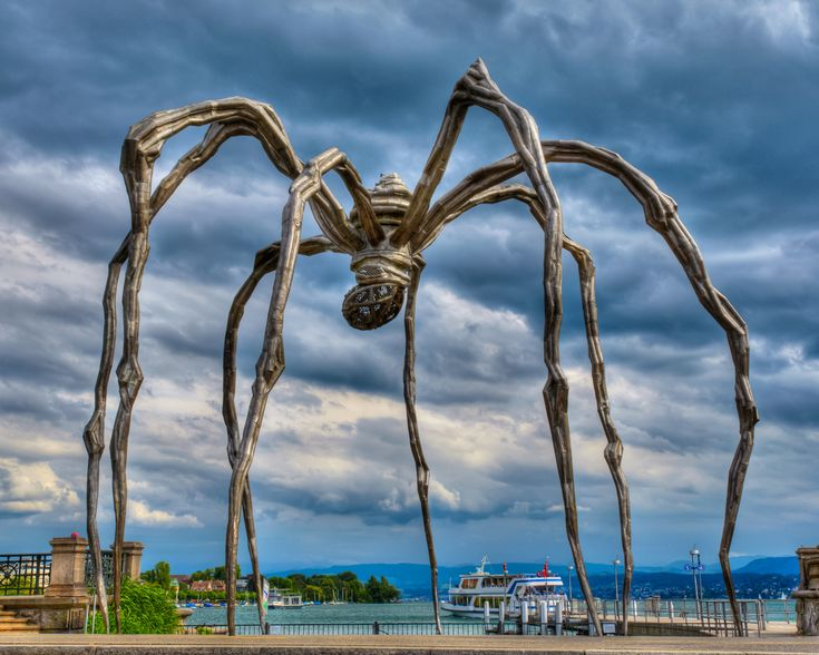 """Louise Bourgeois on Spiders: """"I come from a family of repairers. The spider is a repairer ..."""""""