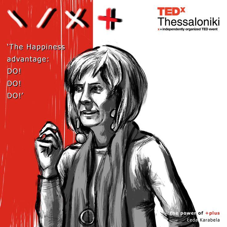 Leda Karabela at TEDx Thessaloniki 2013.