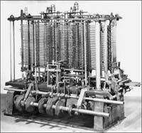In 1822, Charles Babbage purposed and began developing the Difference Engine, considered to be the first automatic computing engine that was capable of computing several sets of numbers and making a hard copies of the results. Unfortunately, because of funding he was never able to complete a full-scale functional version of this machine. In June of 1991, the London Science Museum completed the Difference Engine No 2 for the bicentennial year of Babbage's birth