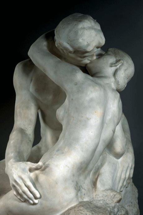 Exposition RODIN, l'exposition du Centenaire 13 Mars 2017 - 24 Juillet 2017 Grand Palais Auguste Rodin. Le Baiser, vers 1882. Musée Rodin, Paris, © DR