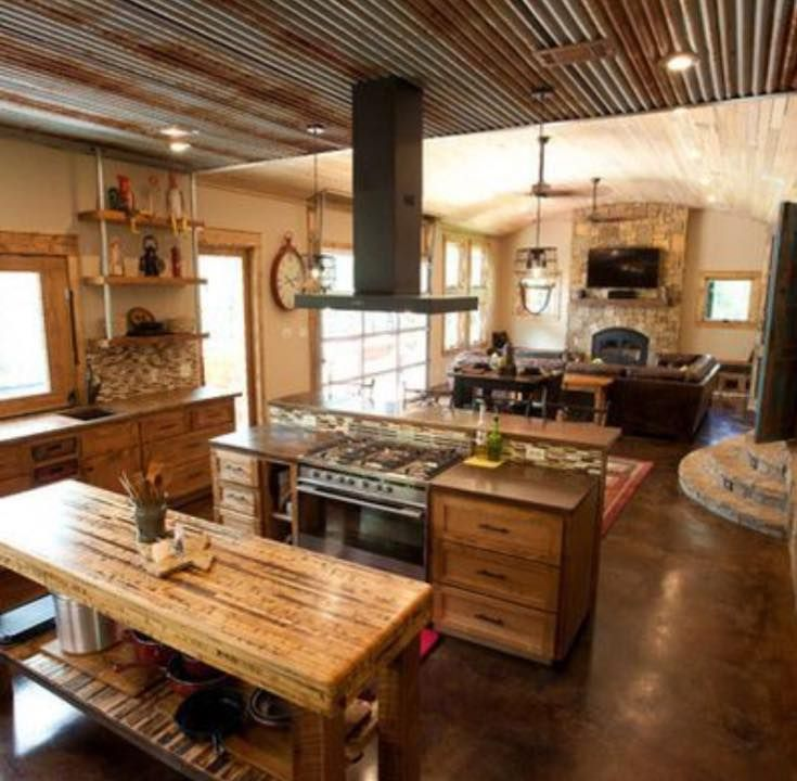 Rustic Modern Kitchen Cabinets: 25+ Best Ideas About Metal Ceiling On Pinterest