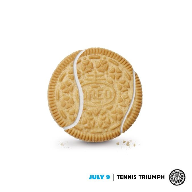Yes!! Two of the greatest things on earth together! tennis oreo