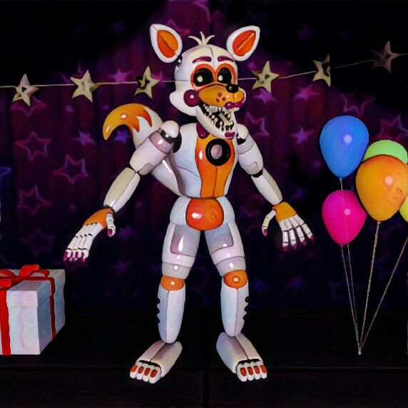Our Friends And I Fnaf: Portrait Of Lolbit The Fox!