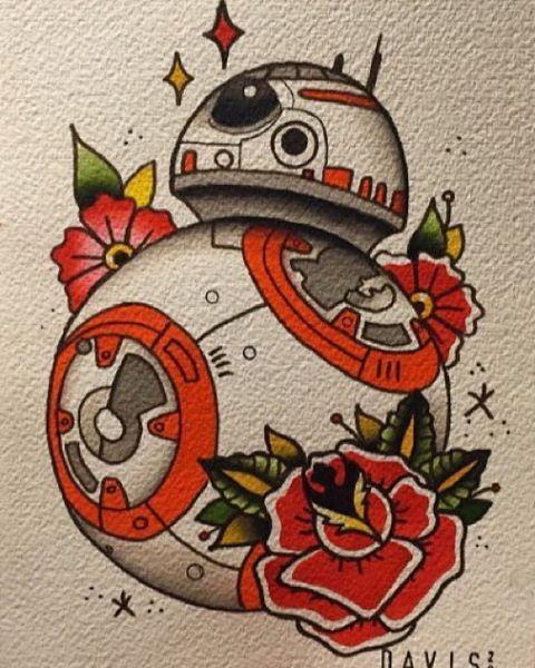 127 best tattoos images on pinterest star wars star