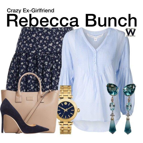 Inspired by Rachel Bloom as Rebecca Bunch on Crazy Ex-Girlfriend.