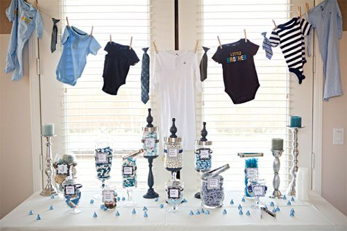 Google Image Result for http://www.babylifestyles.com/images/parties/blue-boy-baby-shower/blue-boy-baby-shower-dessert-table-with-clotheline.jpg