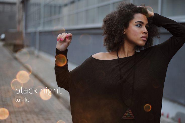 Black night tube #dress #black #classic #kokoworld
