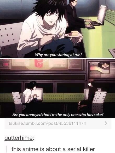 Death Note || anime funny this is actually ridiculously true