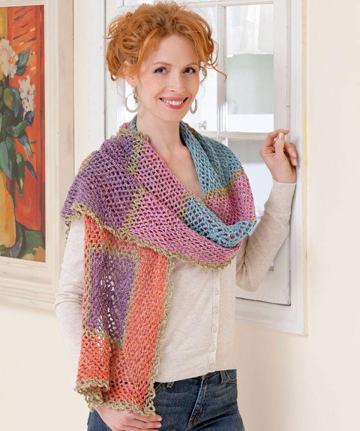 Wrap Me Shawl - (free pattern)