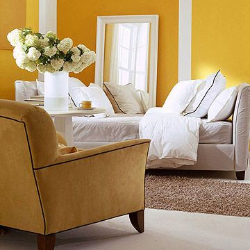 Refresh Your Space With Paint Yellow Living