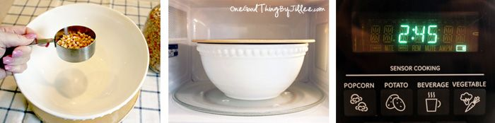 Microwave Popcorn . . . No Bag Required!One Good Thing by Jillee | One Good Thing by Jillee