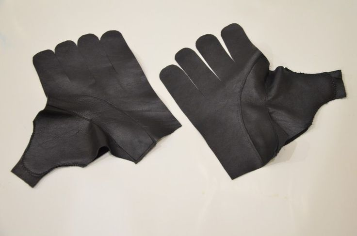 Replacement Hockey Glove Palms Fits 15,14,13 FREE WORLDWIDE SHIPPING BLACK CALF #Dealtechnic
