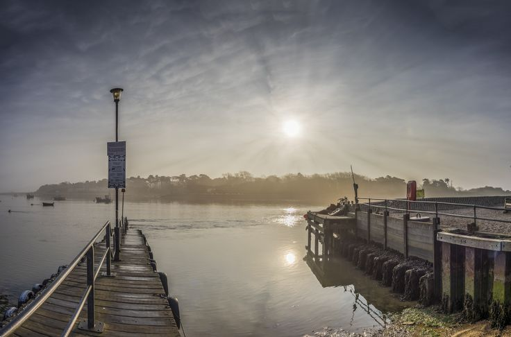 Dawn at the Ferry Jetty by Nigel Lomas on 500px