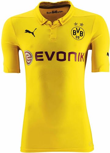 Borussia Dortmund 14-15 Champions League Kit Released - Footy Headlines