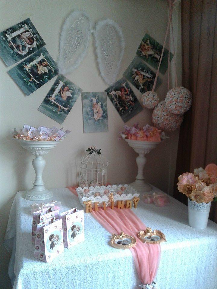 FOTOĞRAFLAR - www.hanieldavetveorganizasyon.com Welcome angel baby shower ideas.Hoş geldin melek bebeği kutlaması ve hastane odası süsleme fikirleri