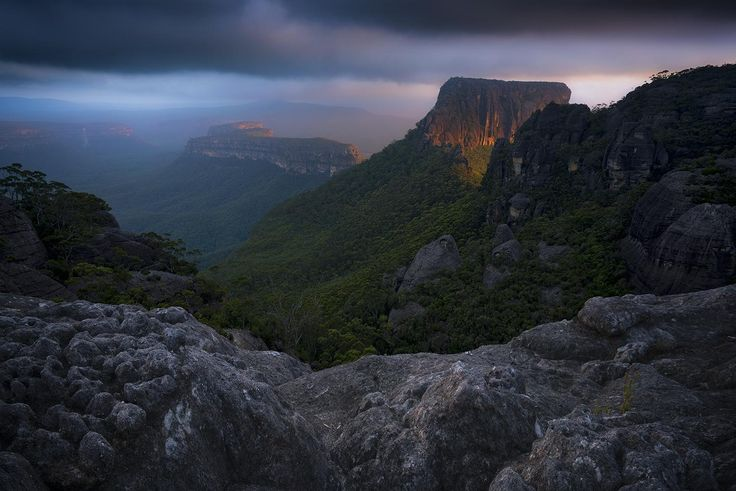 Shrouded Gods Mountain The Budawangs south coast hinterlands of NSW Australia [1500x1000]