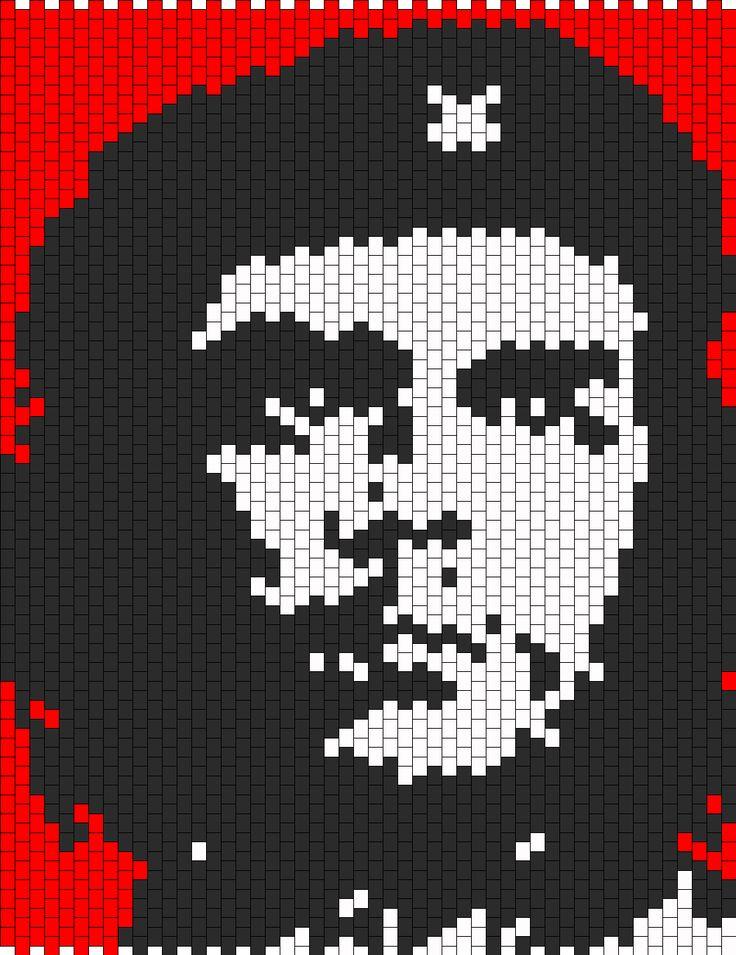 Che Guevara bead pattern