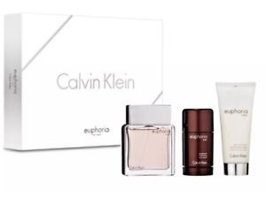 CALVIN KLEIN EUPHORIA EAU DE TOILETE MEN 3-PC. SET  | eBay