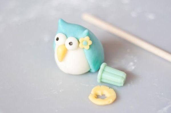 Cute fondant owl tutorial by tonya
