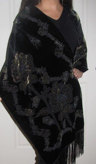 silken dream shawl
