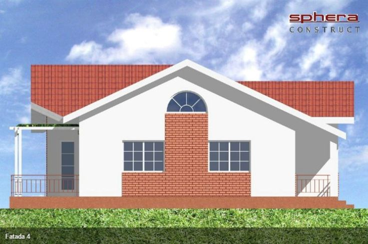 case cu doua dormitoare Two bedroom single story house plans 10