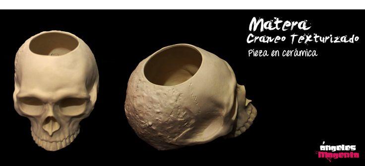 Matera Cráneo Texturizado  para intervenir