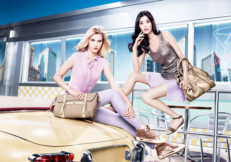 HOGAN Women's Spring - Summer 2013 campaign. A feminine touch for the new season.