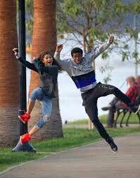 Zendaya & her current boyfriend Trevor Jackson