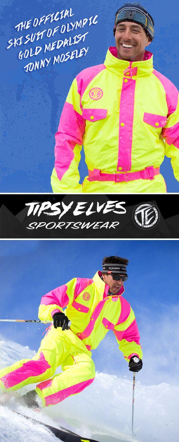 Jonny Moseley won Olympic gold in '98. Jonny Moseley wears Tipsy Elves ski suits. Be like Jonny.