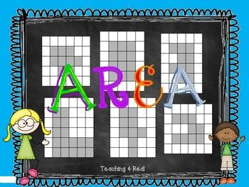 Need an area freebie? This is great for finding area of combined rectangles and involves problem solving as well.