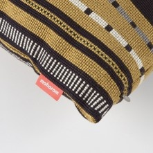 Paul Smith For Maharam - Black And Gold Point Cushion