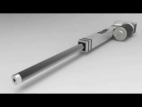 The DART Actuator by iR3: The CIM linear actuator - YouTube